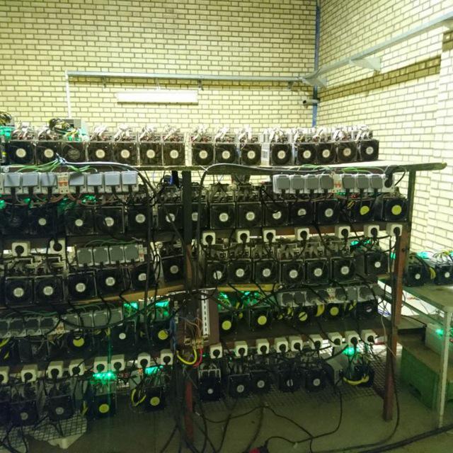 مزرعه استخراج بیت کوین