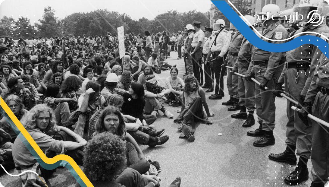 اعتراضات به جنگ ویتنام